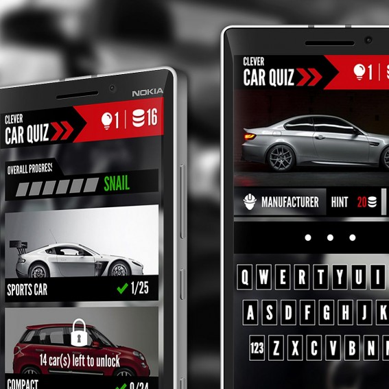 Clever Software Clever Quiz Cars - Sports cars quiz